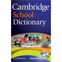Cambridge School Dictionary Paperback + CD-ROM