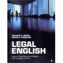 Legal English / William McKay, Helen Charlton